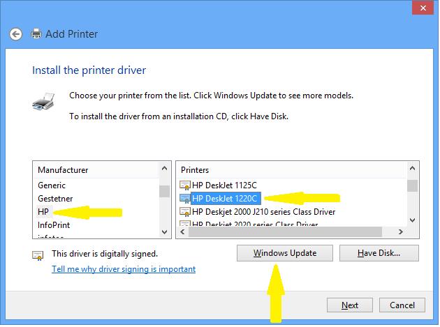 hp deskjet 1280 driver windows 7 32 bit free download