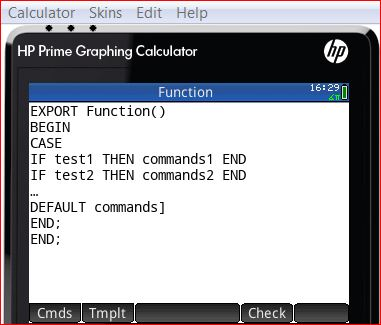 Pre Released_1 - Emulator for Advanced HP PRIME GRAPHING CAL