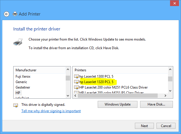 Who driver @PJL JOB printer NAME of HP with print data? - eehelp.com