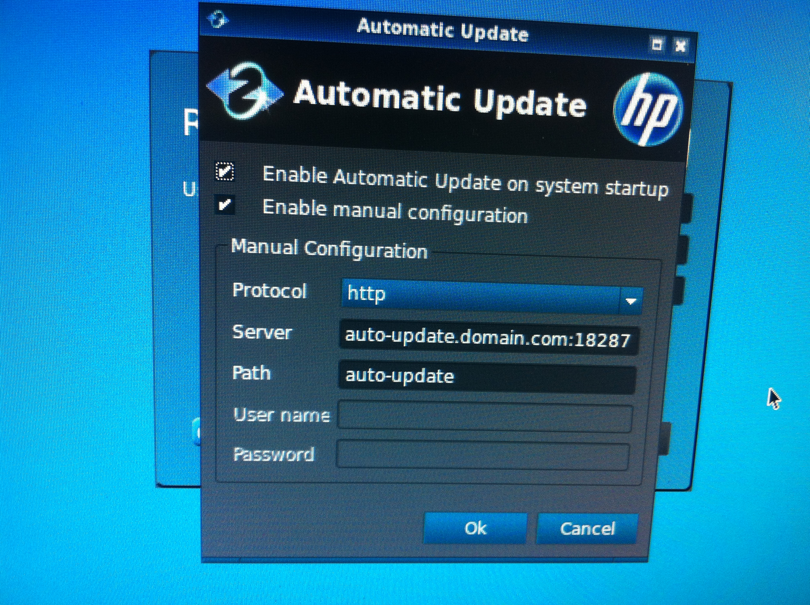 HP t510 thin Client - Installation VNC - HP Support