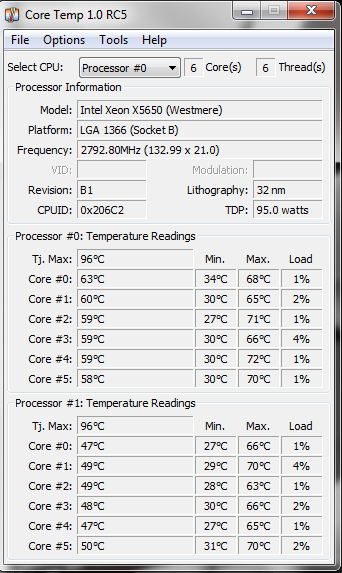 Solved: Workstation CPU Temperatures   - HP Support