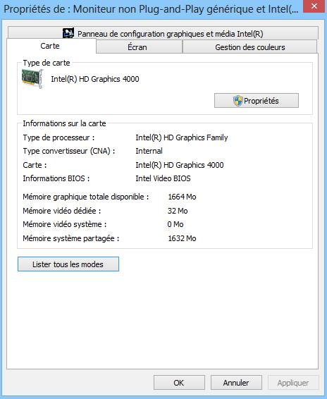 драйвера intel r hd graphics 4000