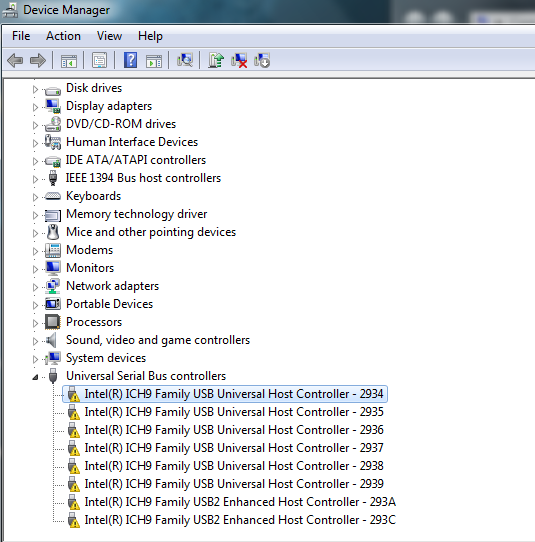 clean install Windows 7, cannot find USB drivers - HP