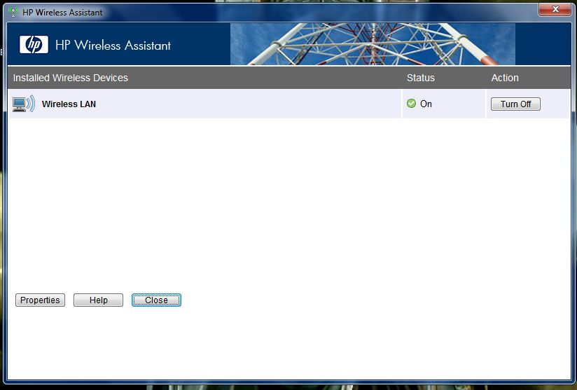 HP Pavilion HDX9324TX Wireless Assistant Drivers for Windows Mac