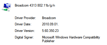 broadcom 802.11 n network adapter driver windows 8.1 acer