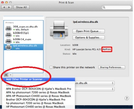 Solved: cannot connect printer to mac - status is idle - HP