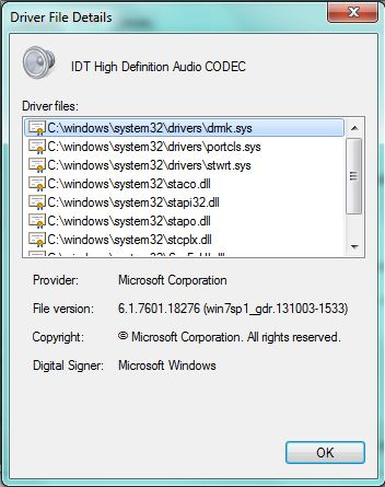 Compaq 615 Notebook IDT HD Audio Driver