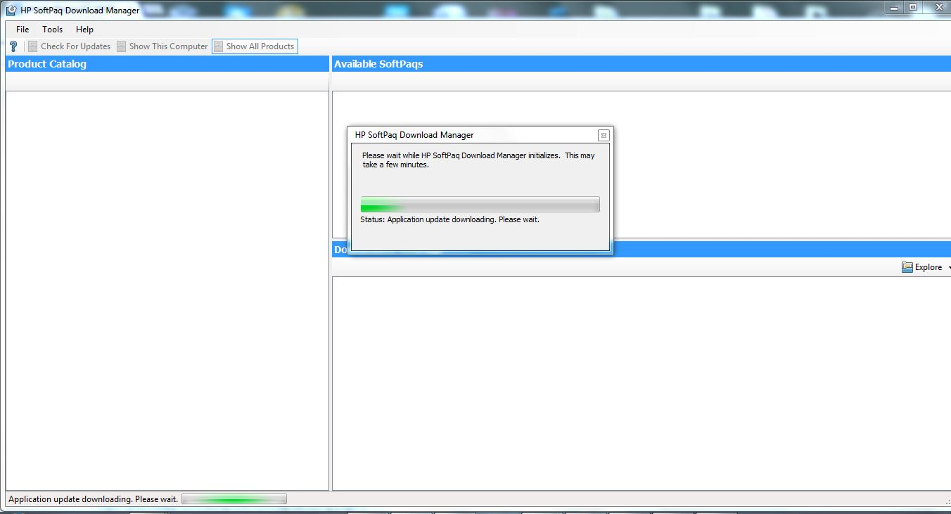 HP SoftPaq Download Manager - HP Support Community - 4729398