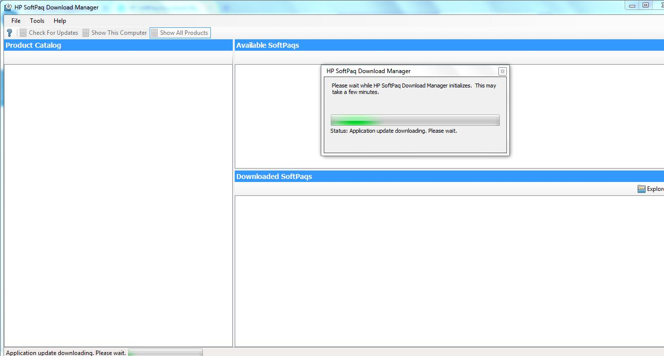 HP SoftPaq Download Manager - HP Support Forum - 4729398