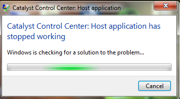 Solved: can't install AMD driver properly lost all CCC options and 3