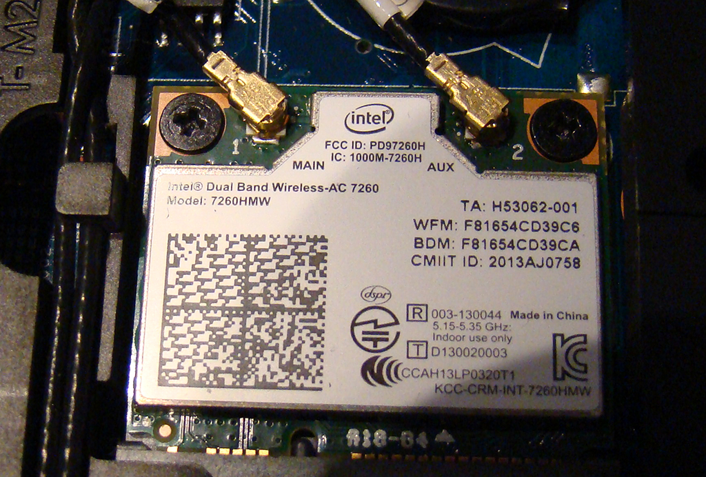 ac 7260. re: hp probook 4740s and intel® dual band wireless-ac 7260 ac s