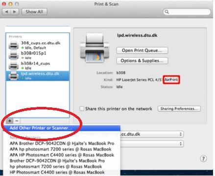hp photosmart d110 software update for mac