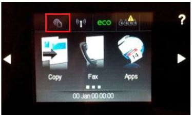 apply firmware updates on all hp network printers