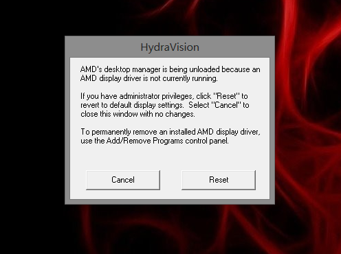 Graphics Error AMD Radeon HD 7640G/7670M Dual GPU - HP