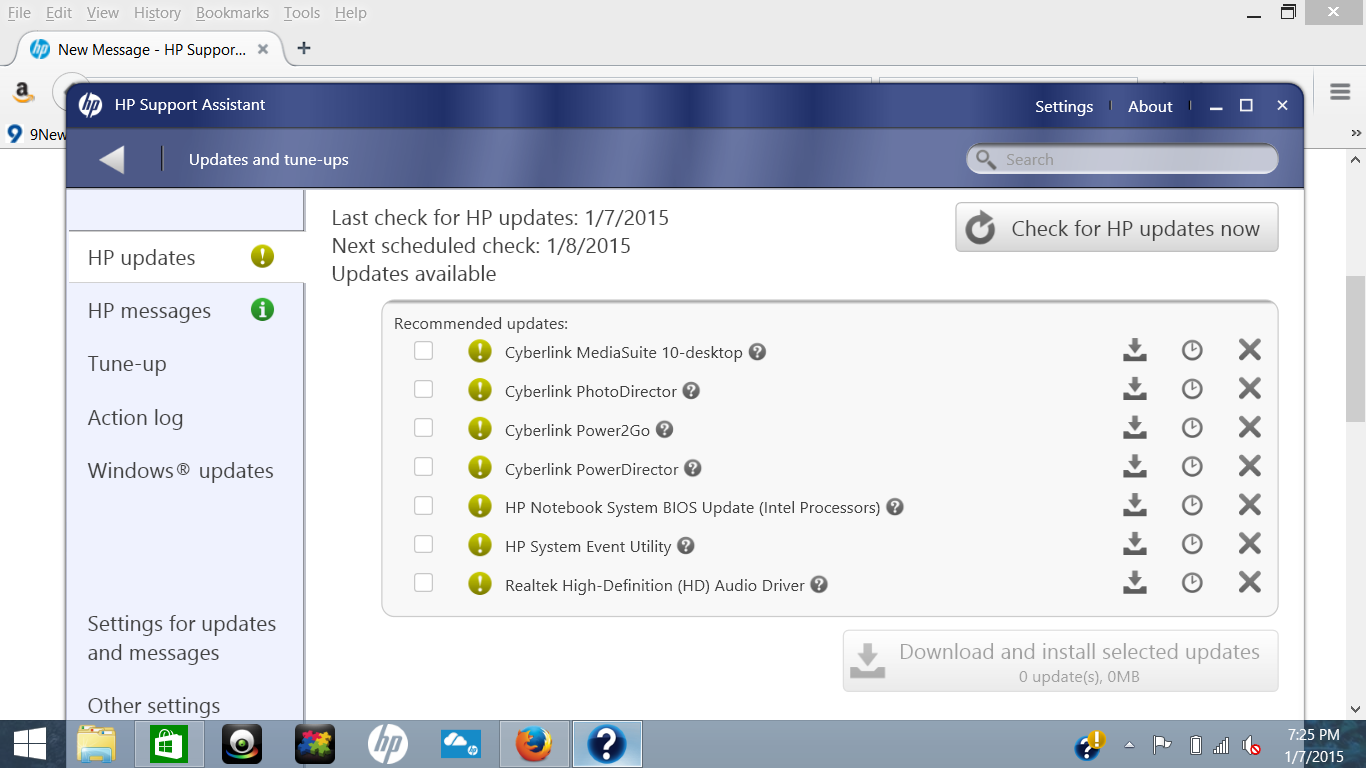 Download hp support assistant drivers