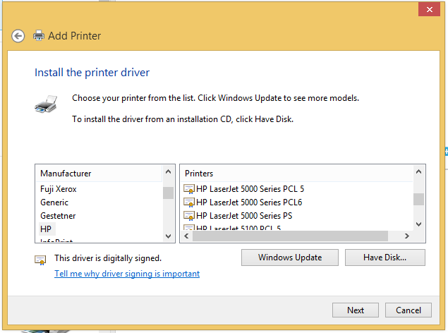 Hp laserjet 5000 n printer driver for windows 10 hp support.