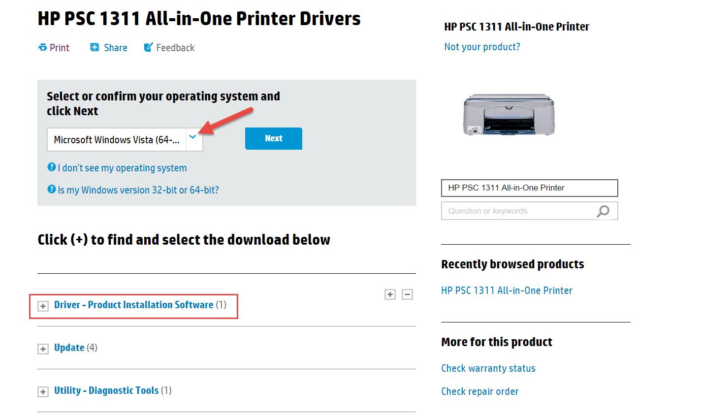 Hp psc 1310 driver download hp drivers printer.