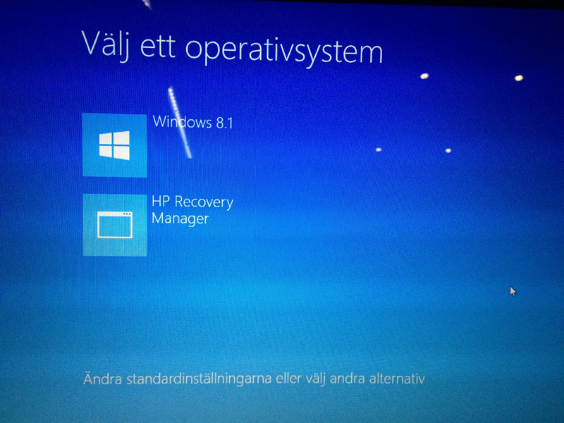 Windows 8.1 Recovery Manager Installer - update - HP ...