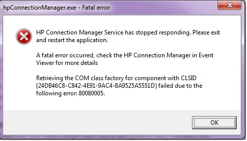 HP Connection Manager Fatal Error.jpg
