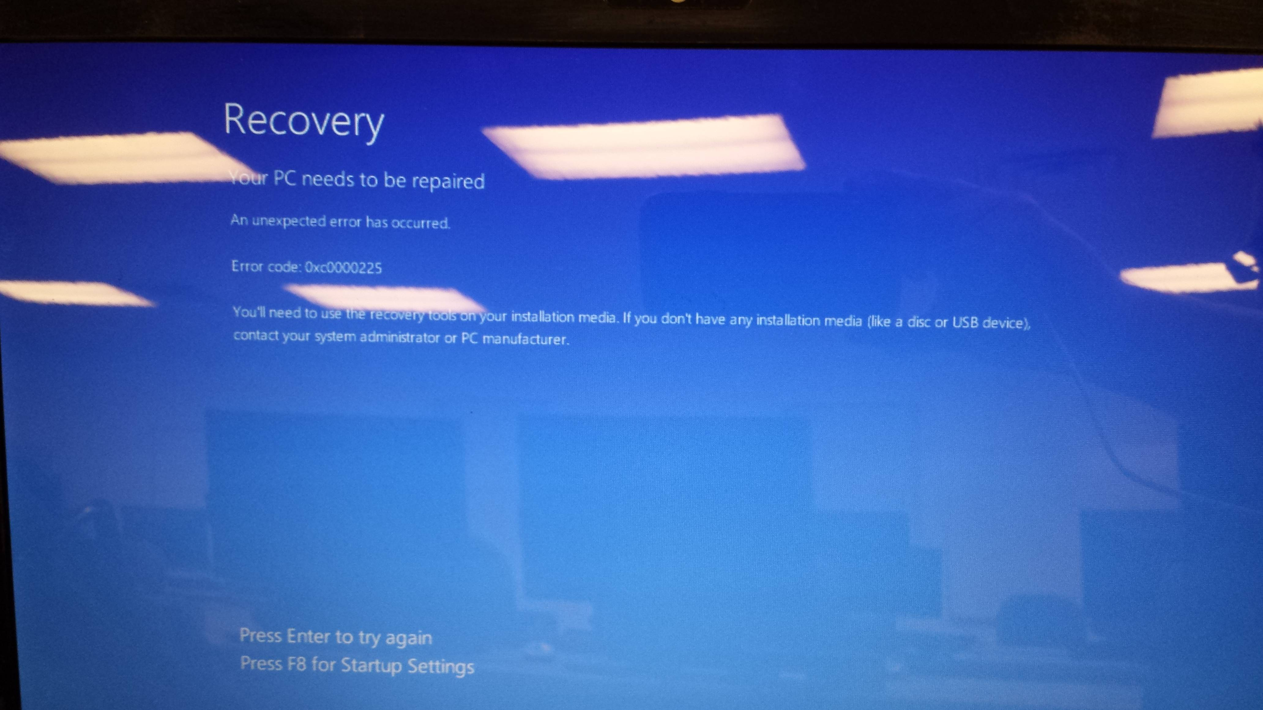 Bios Recovery - Blank Screen $$ Donation Award $$$ - HP
