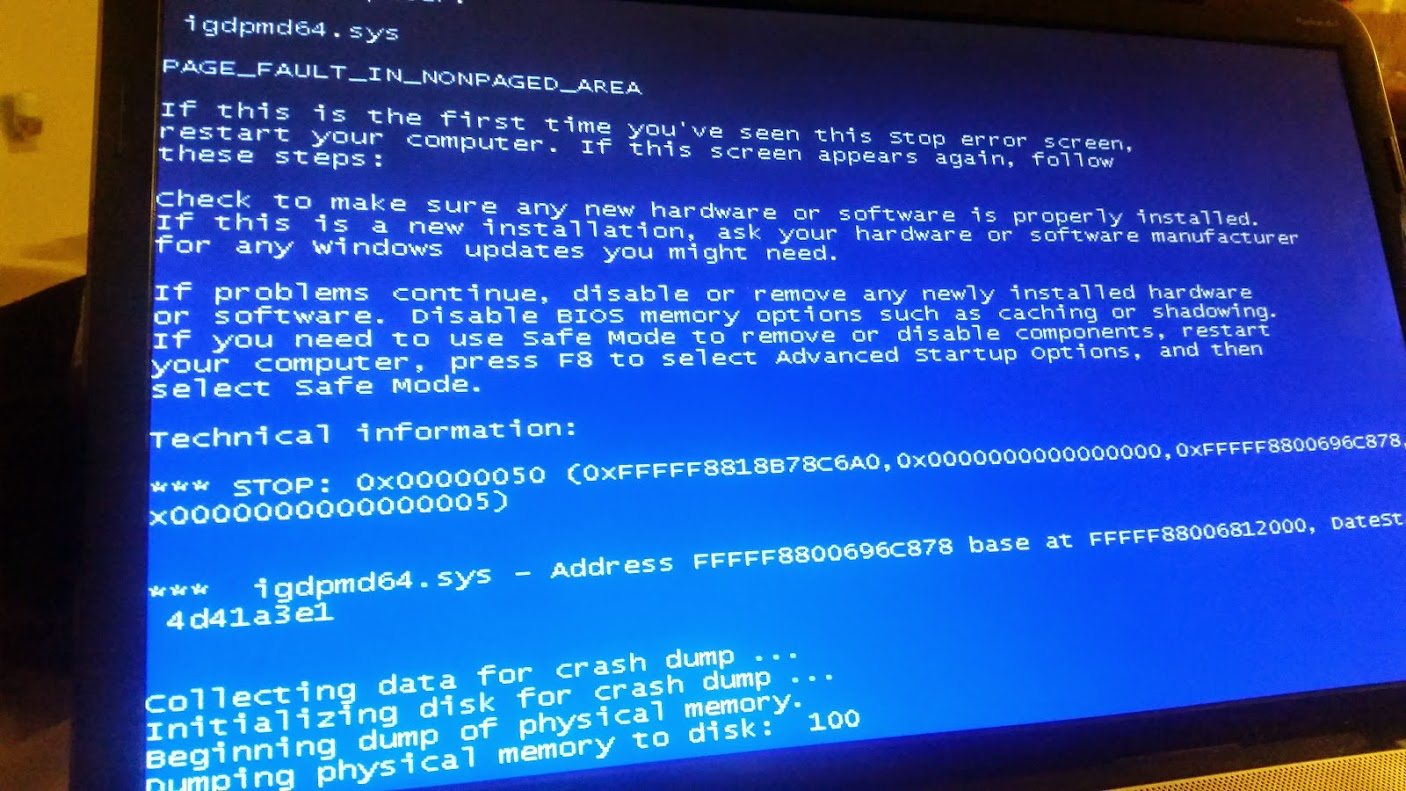 bios crash    need help with update    blue screen everytime