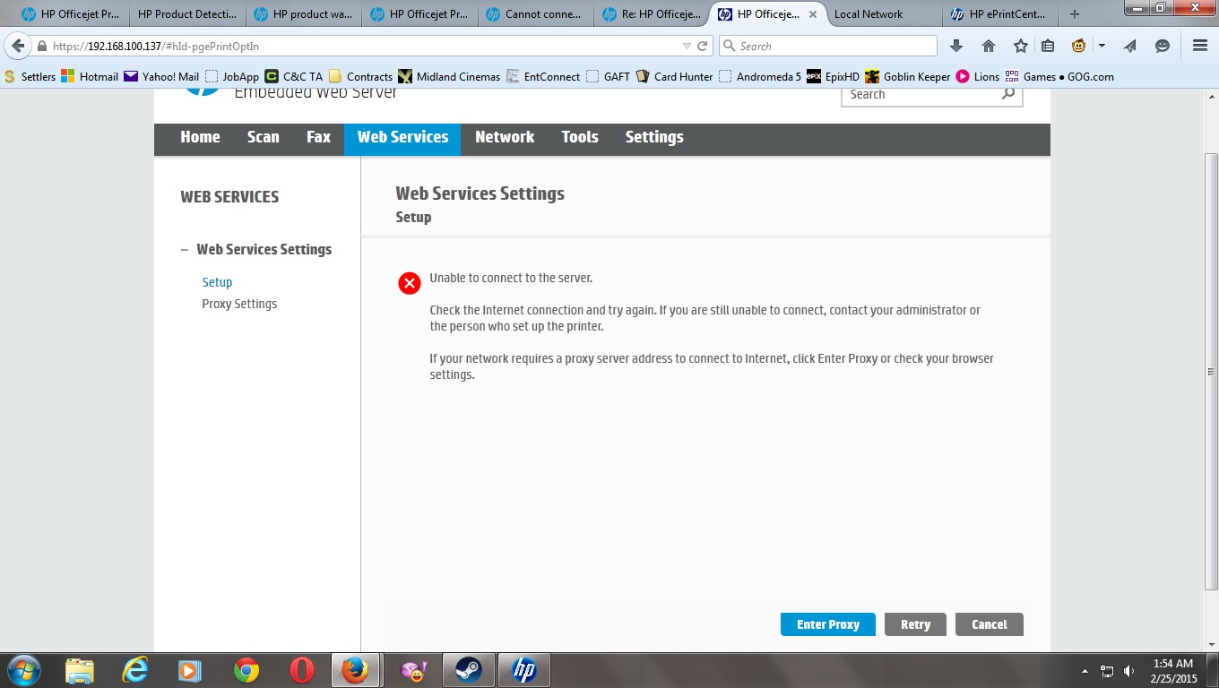 HP has stopped supproting my printer even though they still sell them on  their own website.