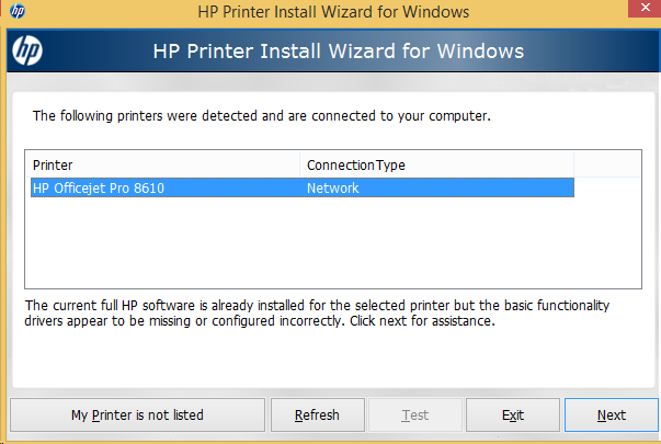 hp officejet pro 8610 driver download