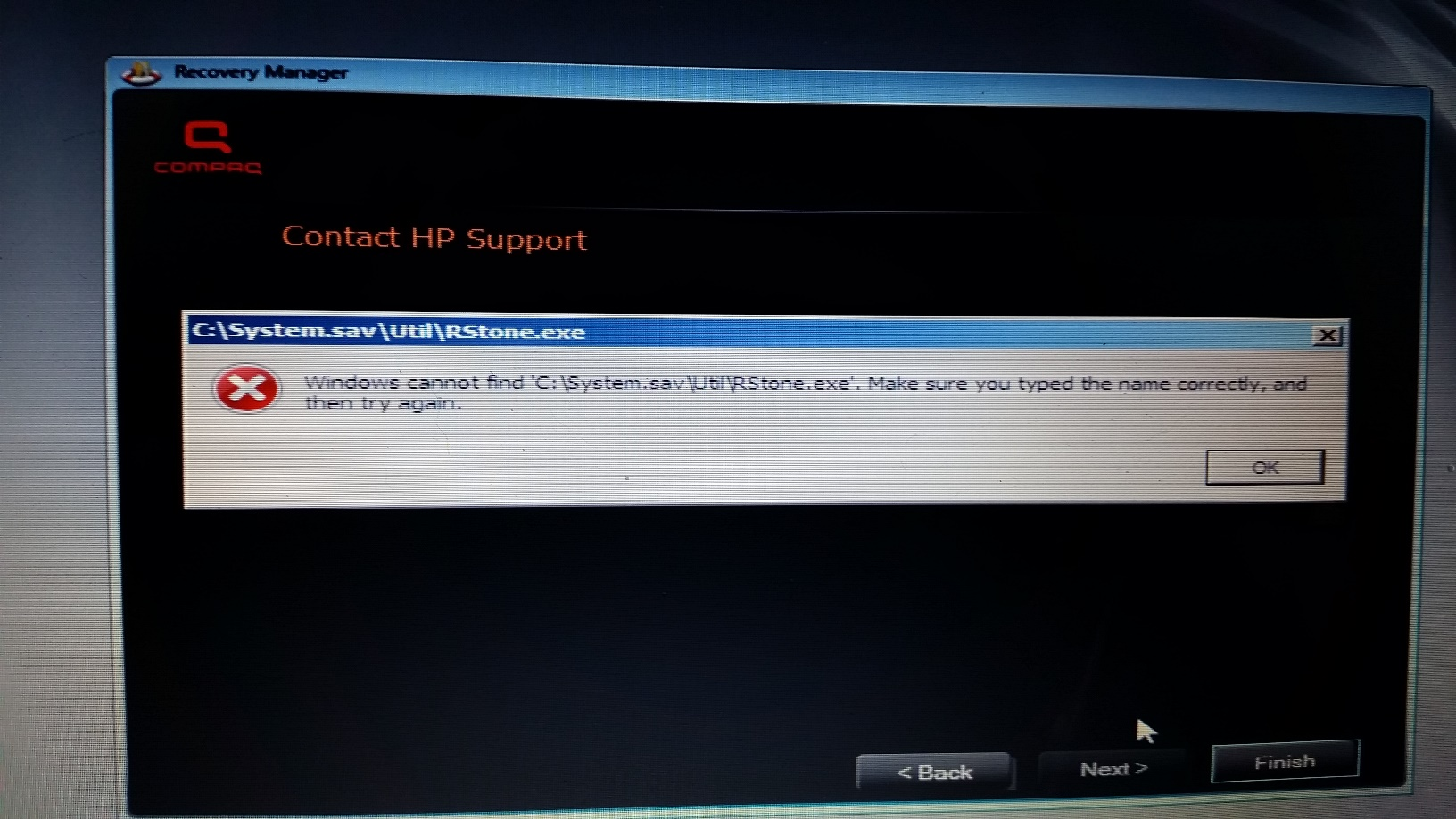 Windows 7 won't start  Windows Boot Manager \boot\bcd 0xc    - HP