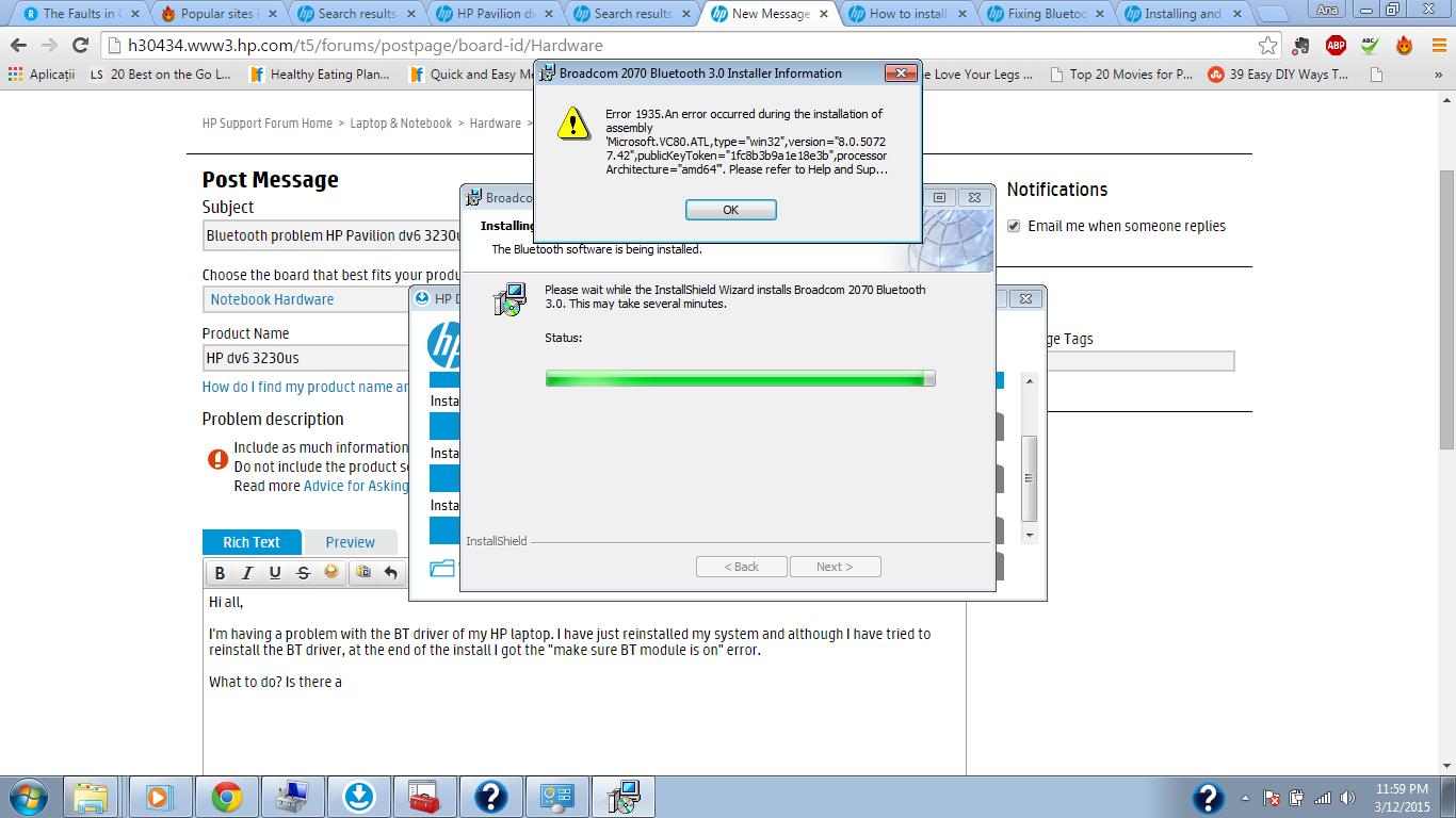 Top Five Hp Pavilion Dv6 Bluetooth Driver Windows 7 32 Bit - Circus