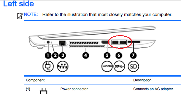 solved how do i know if my hp pavillion has a usb 3 port