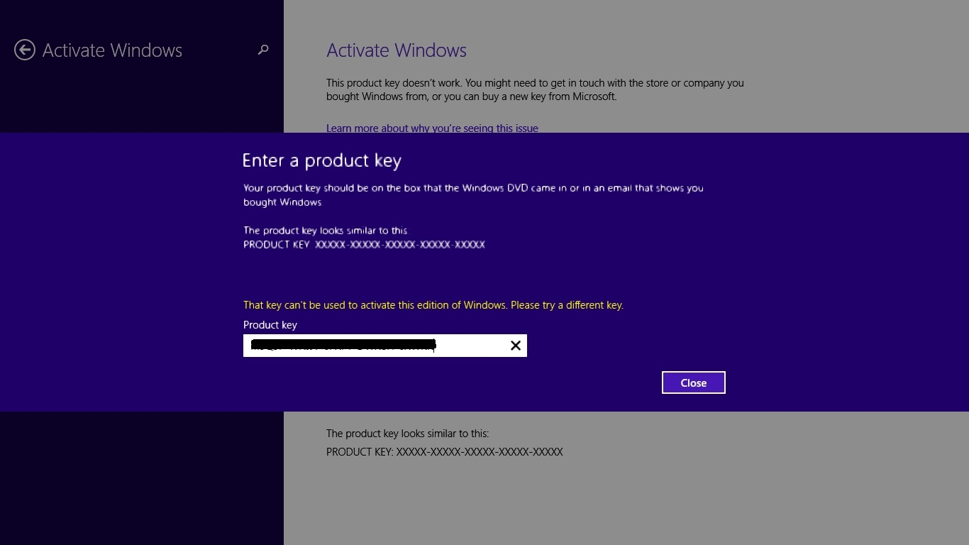 windows 8.1 product keys for activation