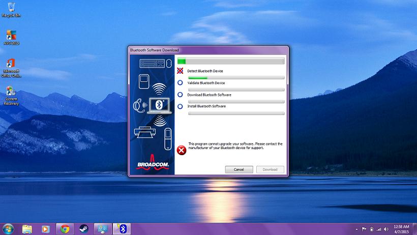 Bluetooth driver problems Elitebook 8440p - HP Support Community