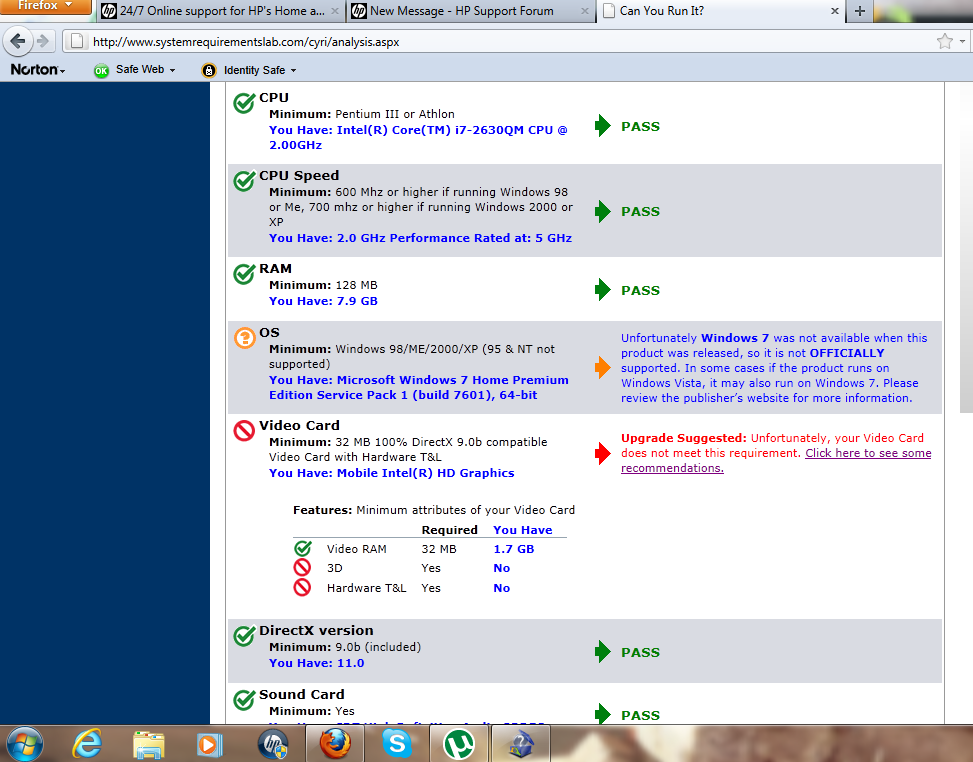 Cant use radeon graphics card on hp dv6   iv tried everythin