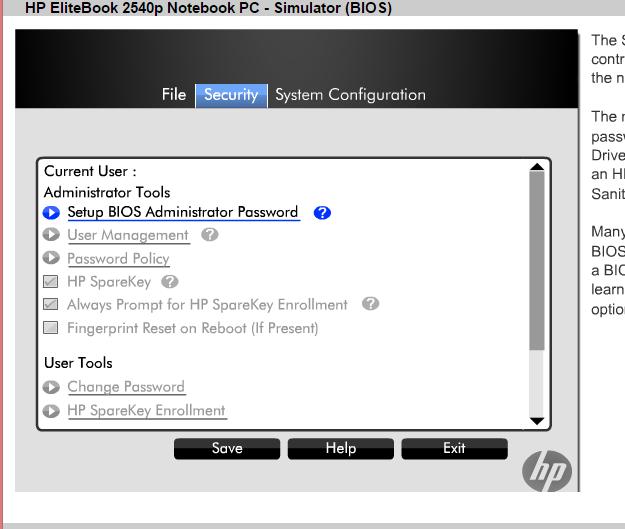 hp elitebook 2540p audio driver windows 10