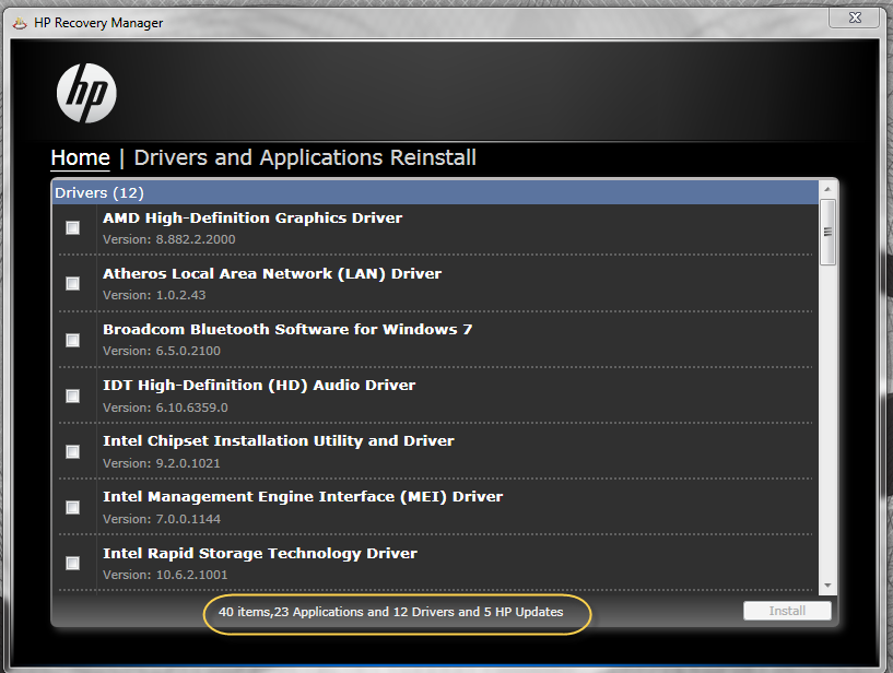 Installation of Nvidia Geforce Drivers - HP Support