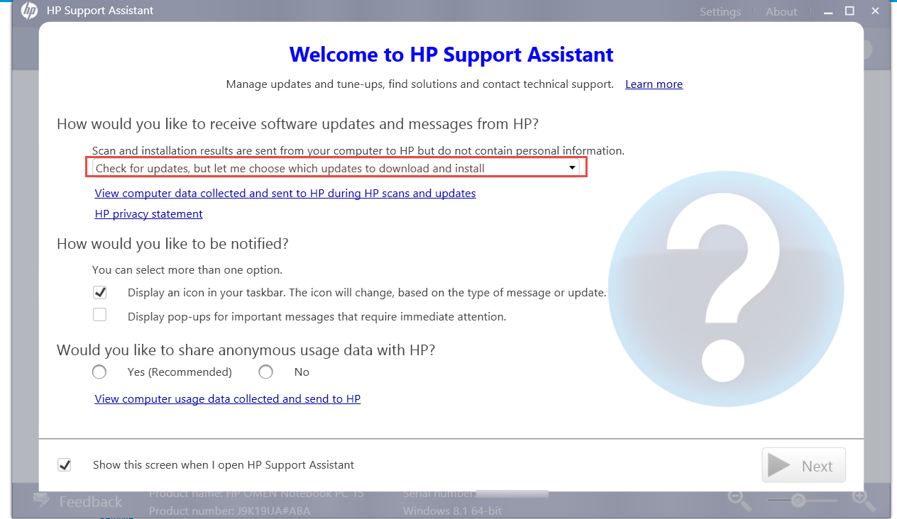 hp support assistant download windows 8.1 64 bit