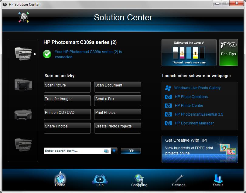 hp photosmart 7760 driver windows 7 download
