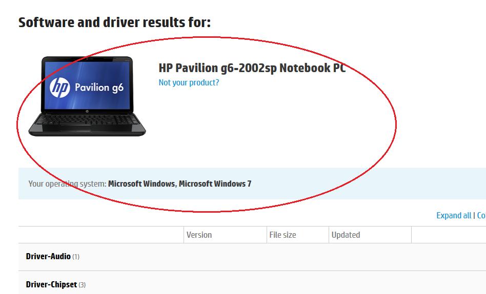 hp pavilion g6 drivers for windows 64 bit