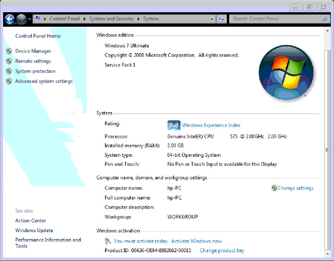 How to Enable Intel Virtualization Technology (vt-x) on HP Compaq 6730?