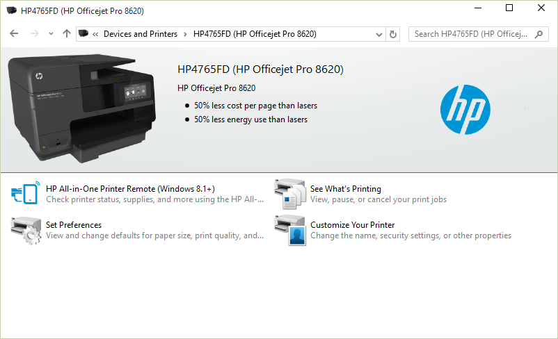 Solved Hp Officejet Pro 8610windows 10 Hp Support Community