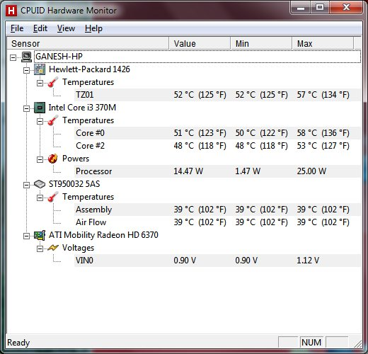 HP g42-478tx temperature goes high - HP Support Community
