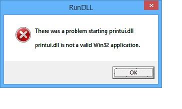 error message \