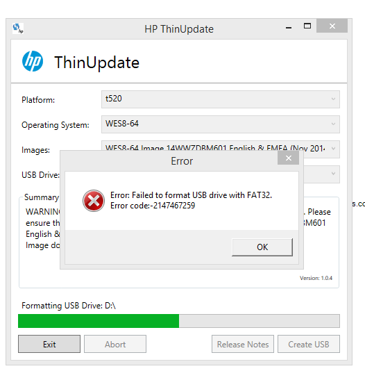 HP ThinUpdate - HP Support Community - 5124566