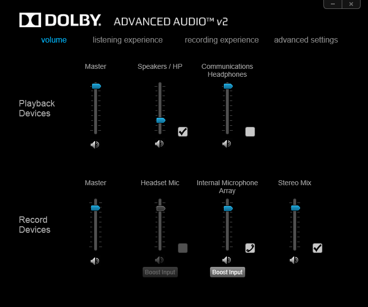 Hp Dolby Advanced Audio Driver Windows 10 Download Dolby