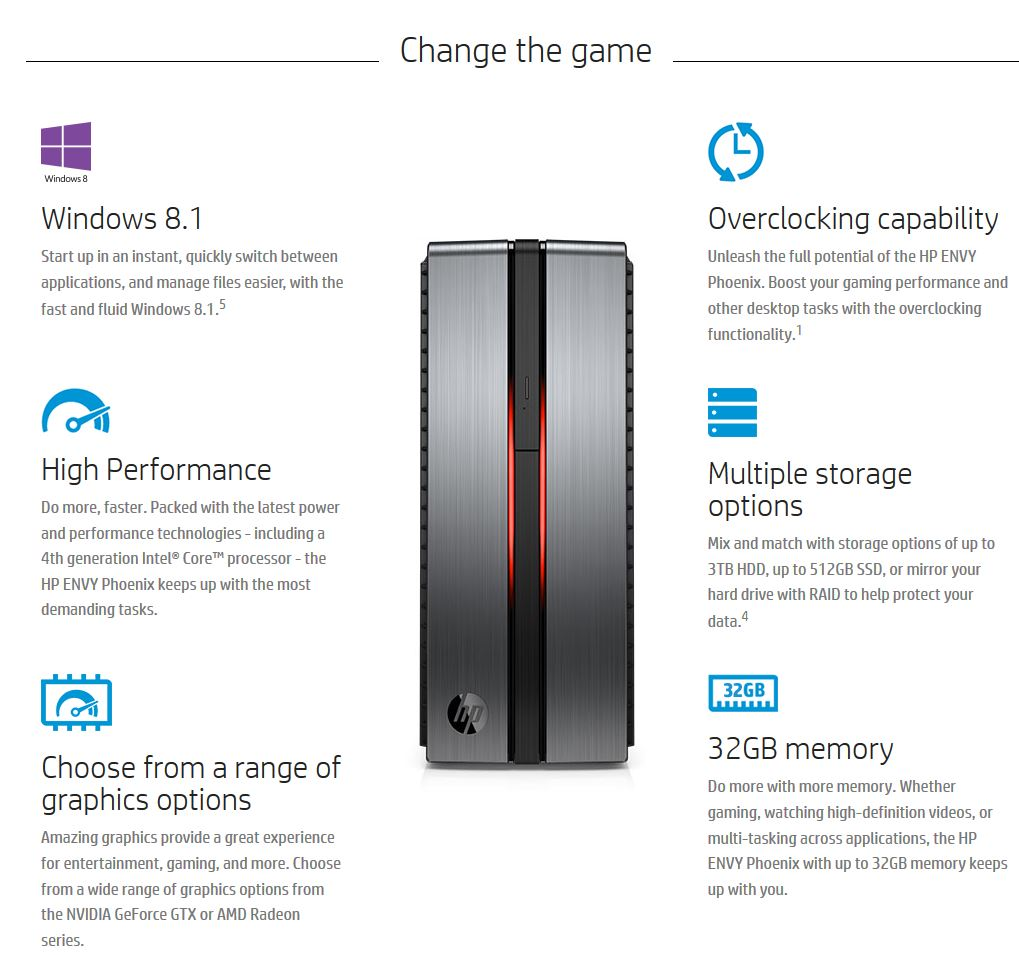 HP ENVY Phoenix 850qe Desktop is Easily support up to four