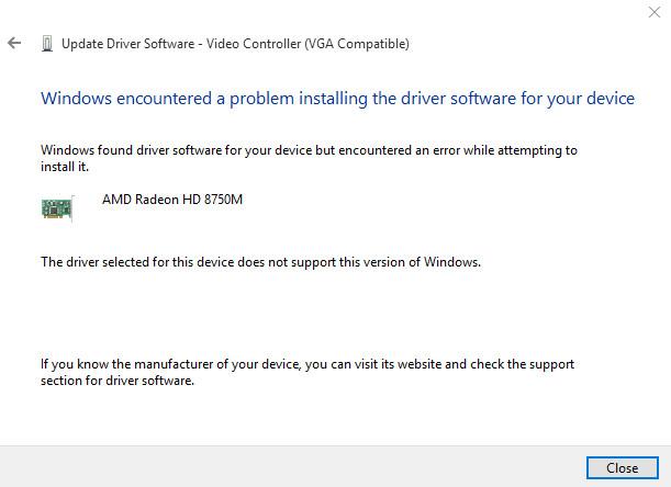 Windows 10 - AMD GPU Problem** - HP Support Community - 5169949