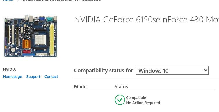 driver nvidia geforce 6150se nforce 430 windows 7