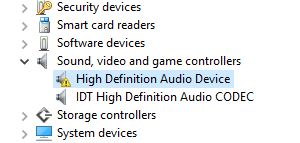 intel high definition audio driver windows 10 hp download