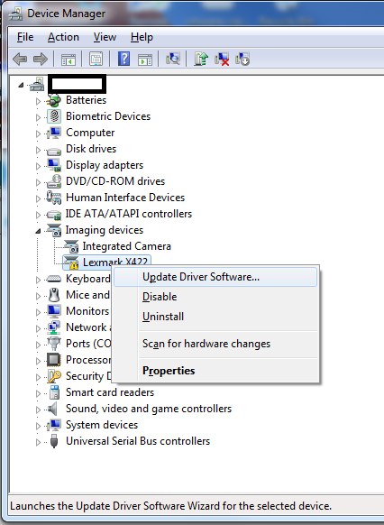 Install Camera Driver Windows 10