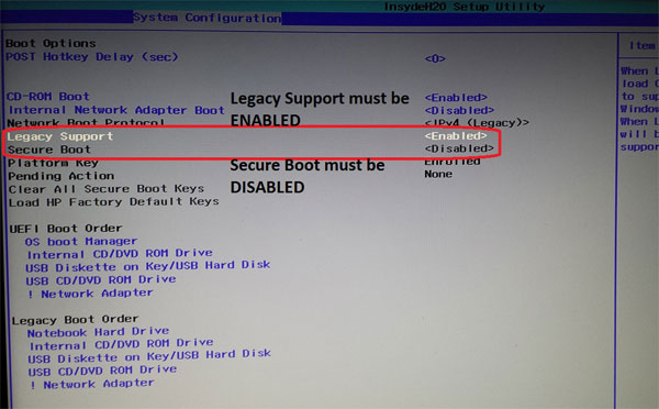 Solved: The selected boot device failed  Press enter to